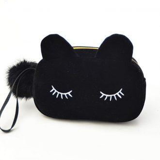 Cartoon Cat Design Cosmetic Bags